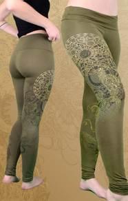 'Drako' Leggings - Olive