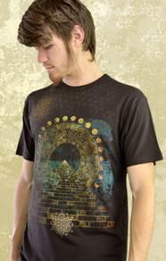 'World Bridger' T-Shirt - Brown