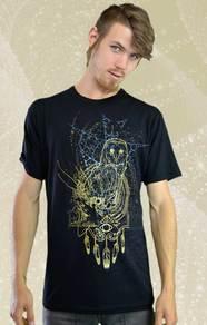 'Tyto' T-Shirt - Black