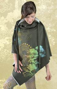 'World Bridger' Poncho/Dress - Green