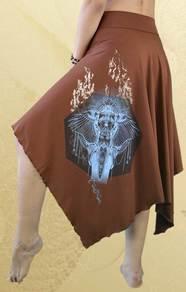 'Tembo' Skirt - Rust
